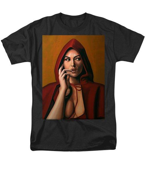 Monica Bellucci T-Shirt by Paul  Meijering