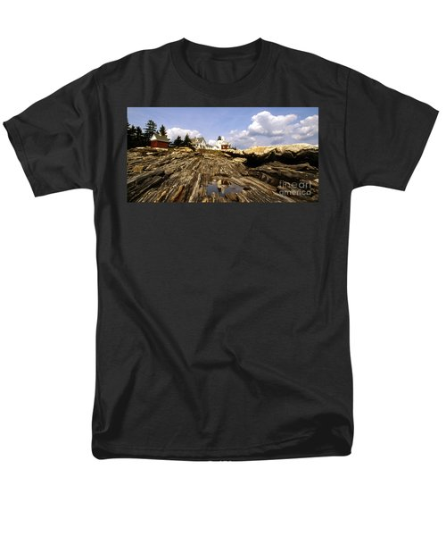 PEMAQUID POINT LIGHTHOUSE T-Shirt by Skip Willits