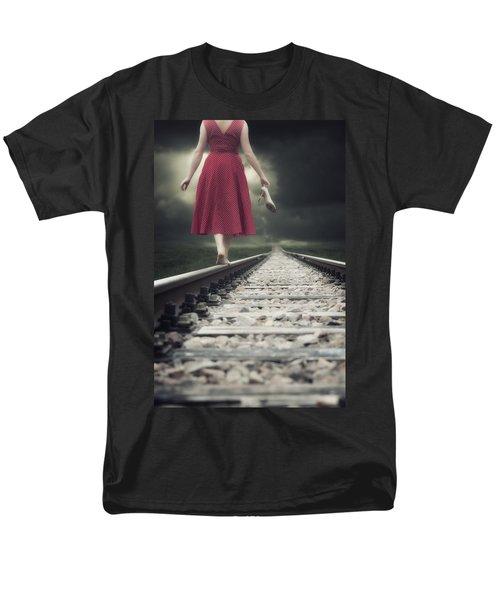 railway tracks T-Shirt by Joana Kruse