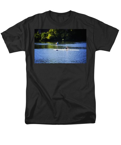 Rowing in Philadelphia T-Shirt by Bill Cannon