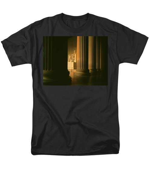 The Lincoln Memorial In The Morning Men's T-Shirt  (Regular Fit) by Panoramic Images