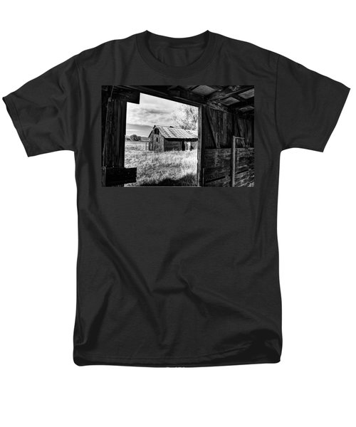View From the Barn T-Shirt by Mountain Dreams