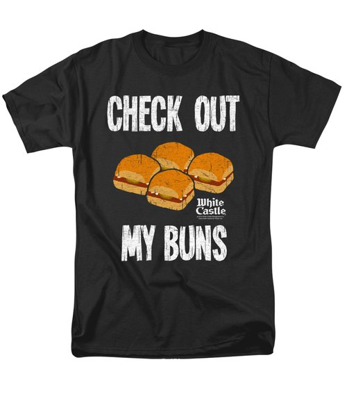White Castle - My Buns Men's T-Shirt  (Regular Fit) by Brand A