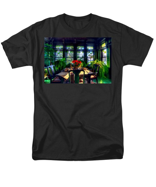 Glensheen Mansion Duluth Men's T-Shirt  (Regular Fit) by Amanda Stadther
