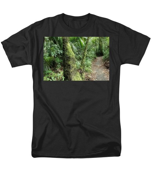 Tropical forest T-Shirt by Les Cunliffe