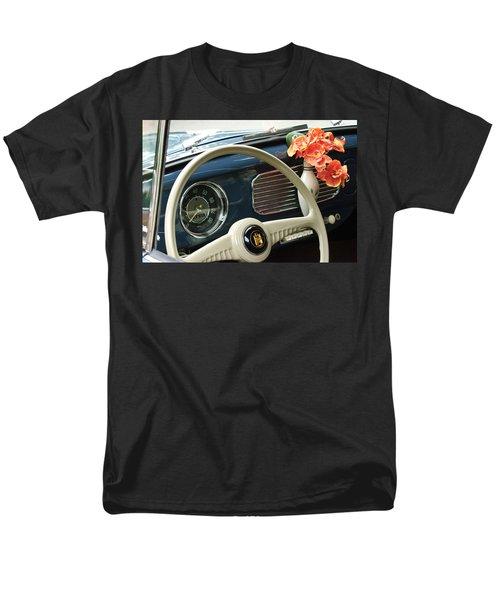 1952 Volkswagen VW Bug Steering Wheel T-Shirt by Jill Reger