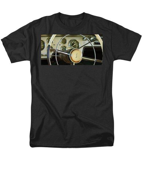 1955 Studebaker President Steering Wheel Emblem T-Shirt by Jill Reger