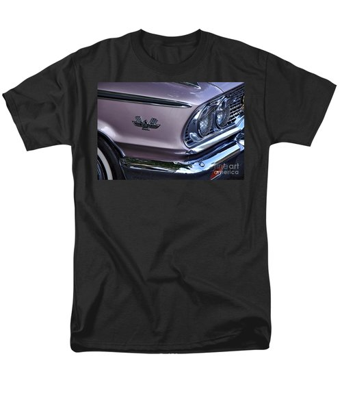 1963 Ford Galaxie Front End and Badge T-Shirt by Kaye Menner