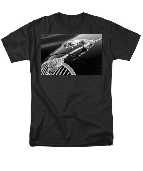 1964 Jaguar MK2 Saloon Hood Ornament and Emblem T-Shirt by Jill Reger