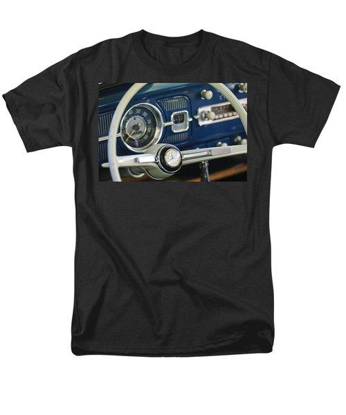 1965 Volkswagen VW Beetle Steering Wheel T-Shirt by Jill Reger