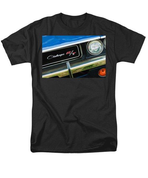 1970 Dodge Challenger RT Convertible Grille Emblem T-Shirt by Jill Reger