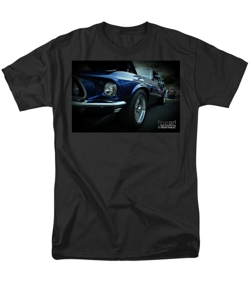 1969 Ford Mustang Mach 1 Fastback T-Shirt by Paul Ward