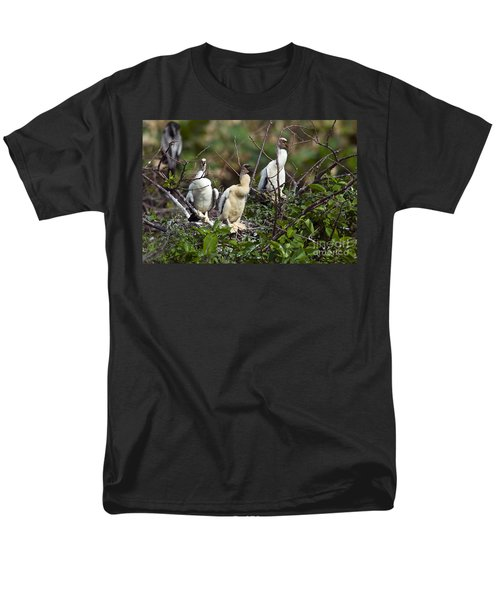 Baby Anhinga Men's T-Shirt  (Regular Fit) by Mark Newman