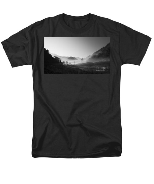 mist in the valley T-Shirt by Setsiri Silapasuwanchai
