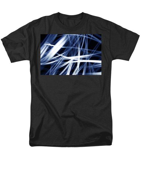 Blue lines  T-Shirt by Les Cunliffe