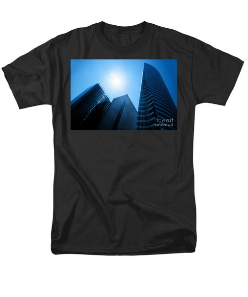 Business skyscrapers T-Shirt by Michal Bednarek