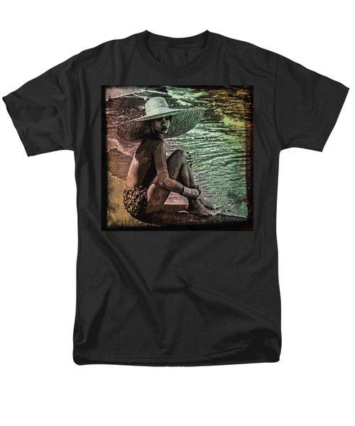 Rihanna Men's T-Shirt  (Regular Fit) by Svelby Art