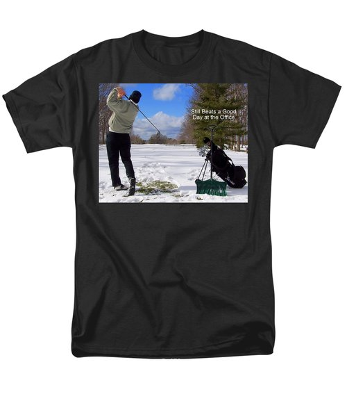 A Bad Day on the Golf Course T-Shirt by Frozen in Time Fine Art Photography