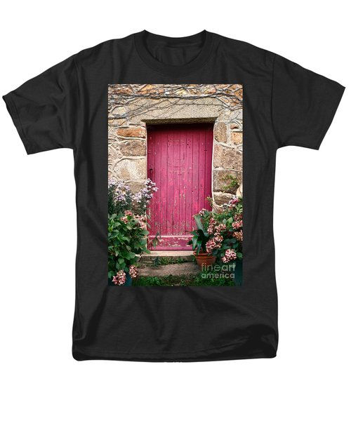 A Pink Door T-Shirt by Olivier Le Queinec