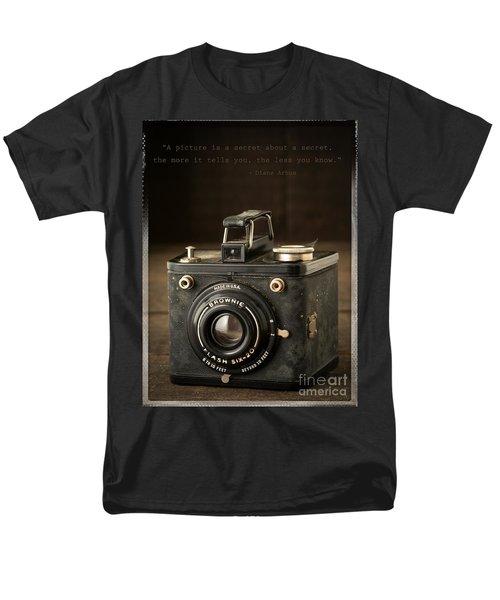 A Secret About a Secret T-Shirt by Edward Fielding