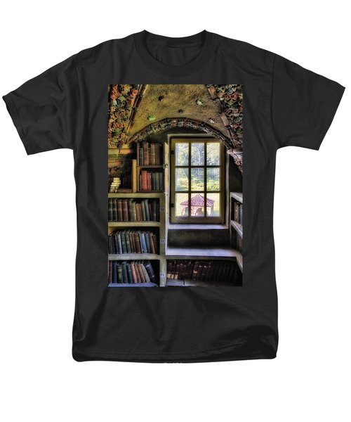 A View From The Study T-Shirt by Susan Candelario