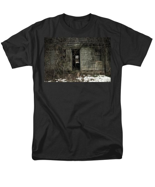 Abandoned House - Enter House on the Hill T-Shirt by Gary Heller