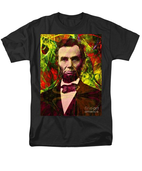 Abraham Lincoln 2014020502p28 T-Shirt by Wingsdomain Art and Photography