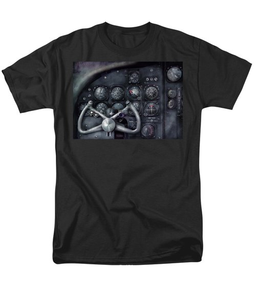 Air - The Cockpit T-Shirt by Mike Savad