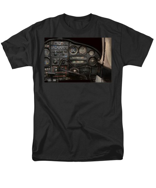 Airplane - Piper PA-28 Cherokee Warrior - A warriors view T-Shirt by Mike Savad