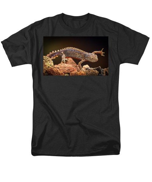 Alpine Newt Men's T-Shirt  (Regular Fit) by Dirk Ercken