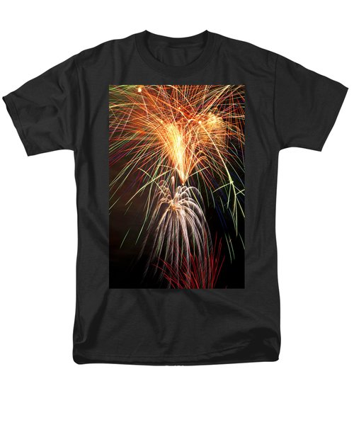 Amazing Fireworks T-Shirt by Garry Gay