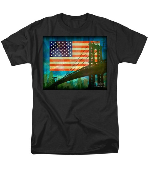 American Pride T-Shirt by Bedros Awak