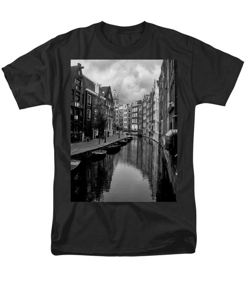 Amsterdam Canal T-Shirt by Heather Applegate