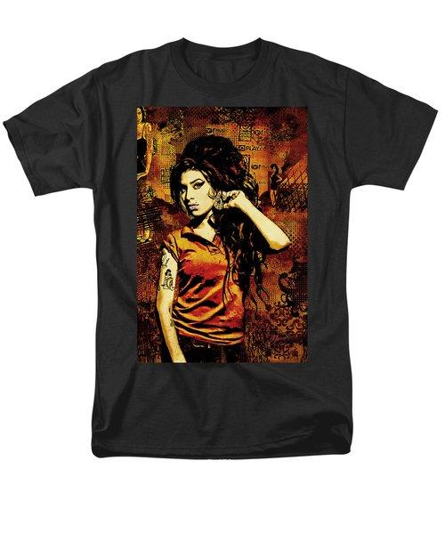 Amy Winehouse 24x36 MM Reg T-Shirt by Dancin Artworks