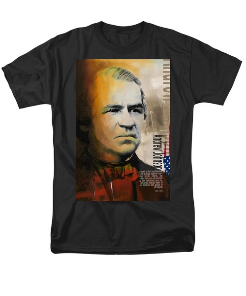 Andrew Johnson T-Shirt by Corporate Art Task Force