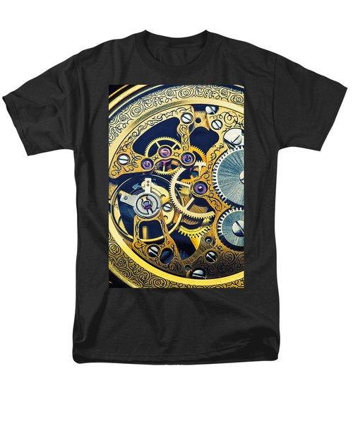 Antique pocket watch gears T-Shirt by Garry Gay