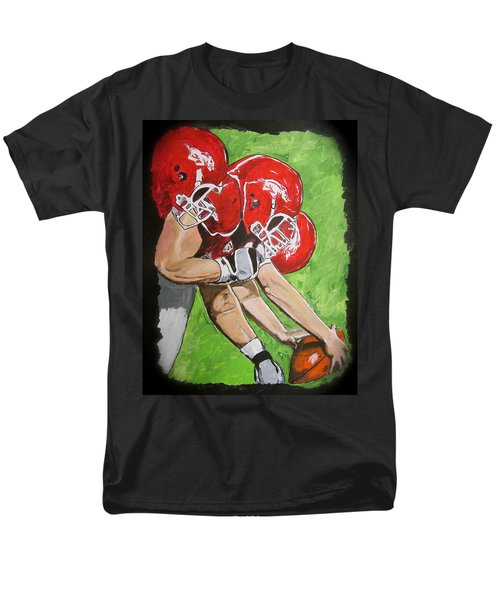 Arkansas Razorbacks Football T-Shirt by Carol Blackhurst