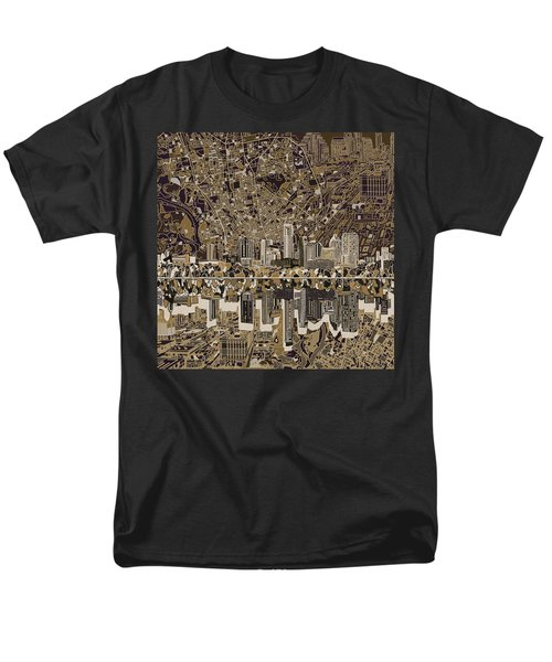 Austin Texas Skyline 5 Men's T-Shirt  (Regular Fit) by Bekim Art