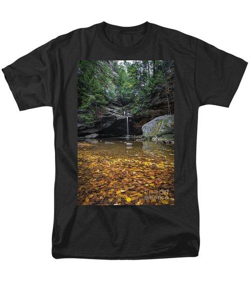 Autumn Falls Men's T-Shirt  (Regular Fit) by James Dean