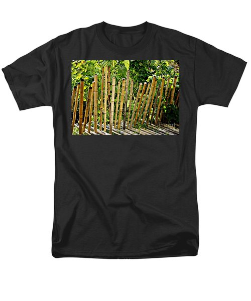 Bamboo Fencing T-Shirt by Lilliana Mendez