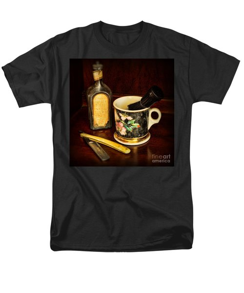 BARBER - SHAVING MUG AND TOILET WATER T-Shirt by Paul Ward
