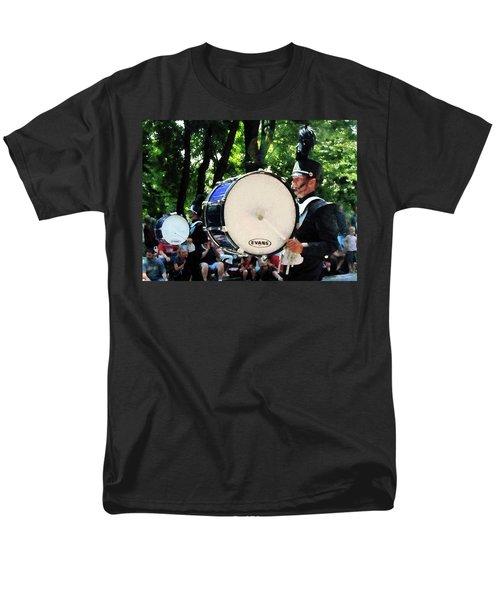 Bass Drums on Parade T-Shirt by Susan Savad