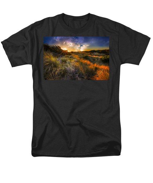 Beach Dunes T-Shirt by Debra and Dave Vanderlaan