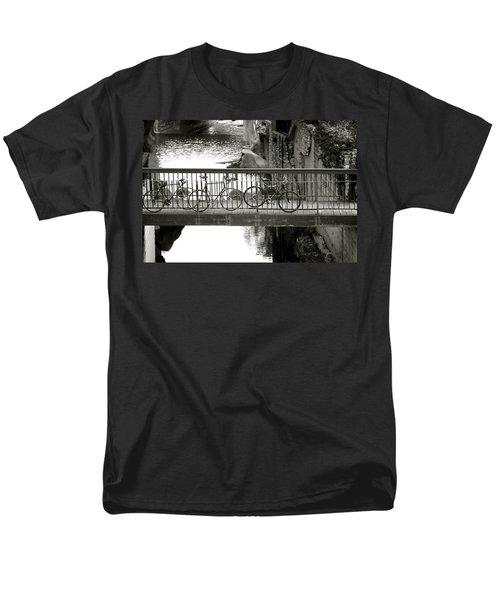 Bikes over Waller Creek T-Shirt by Kristina Deane