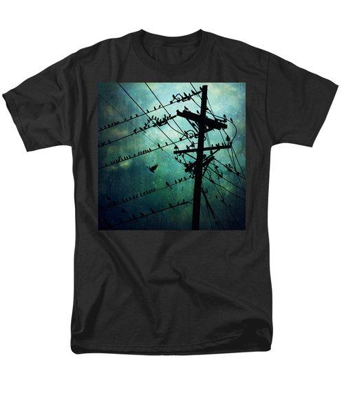 Bird City Men's T-Shirt  (Regular Fit) by Trish Mistric