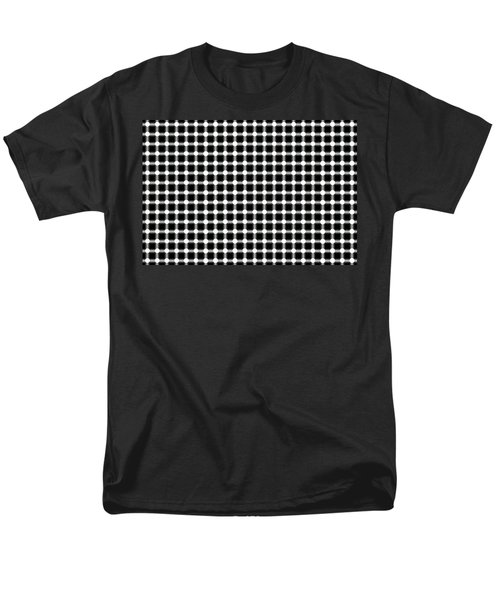 BLACK and WHITE DOTS T-Shirt by Daniel Hagerman