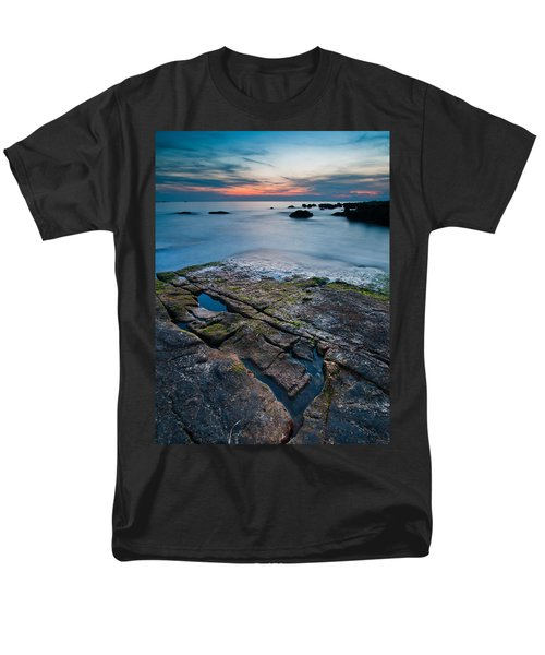 Black rock T-Shirt by Davorin Mance