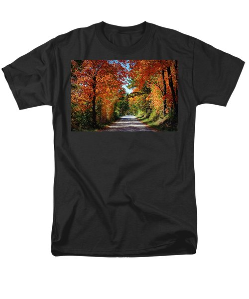 Blaze Of Glory Men's T-Shirt  (Regular Fit) by Cricket Hackmann