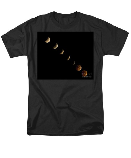 Blood Moon Men's T-Shirt  (Regular Fit) by James Dean