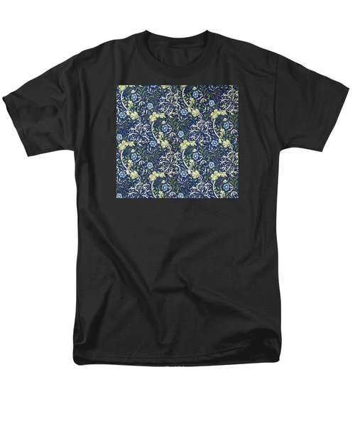 Blue Daisies Design T-Shirt by William Morris